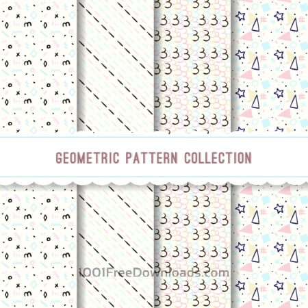 Free Geometric pattern collection