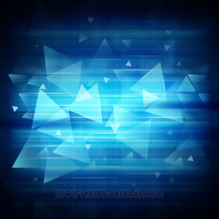 Free Abstract modern background design with triangles