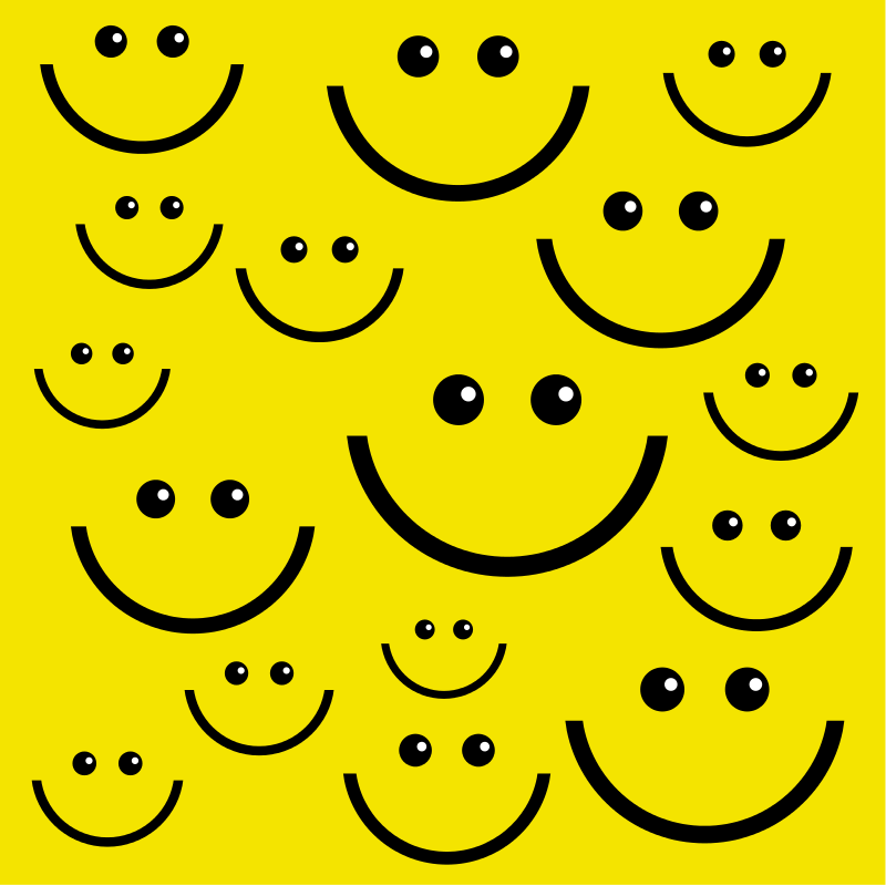 Free Smiley Face Background