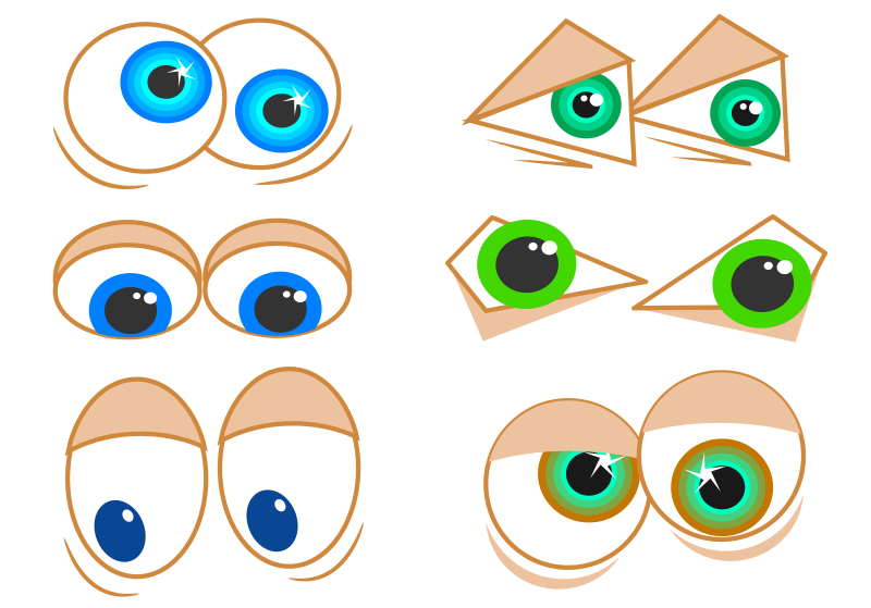 Free Cartoon Eyes