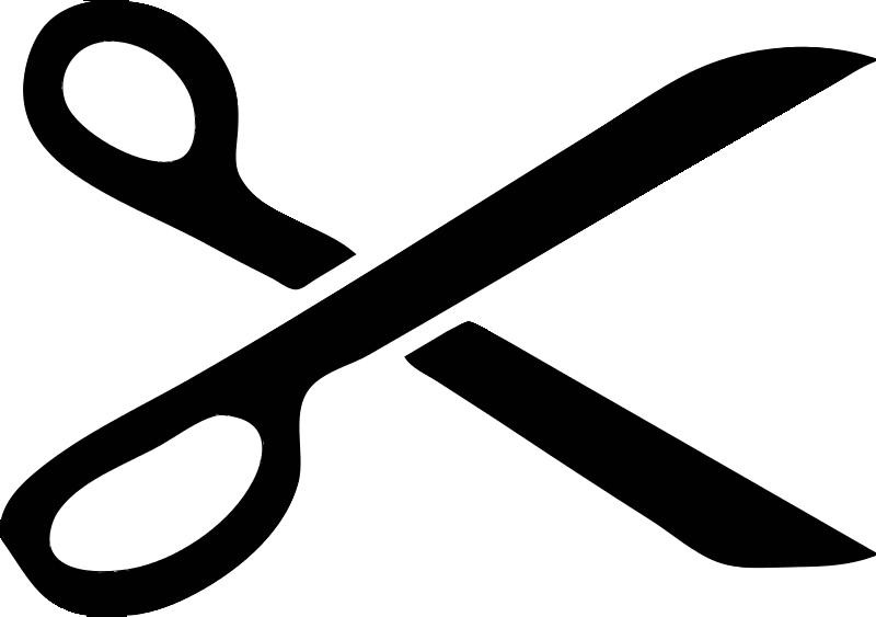 Free Scissor Stencil