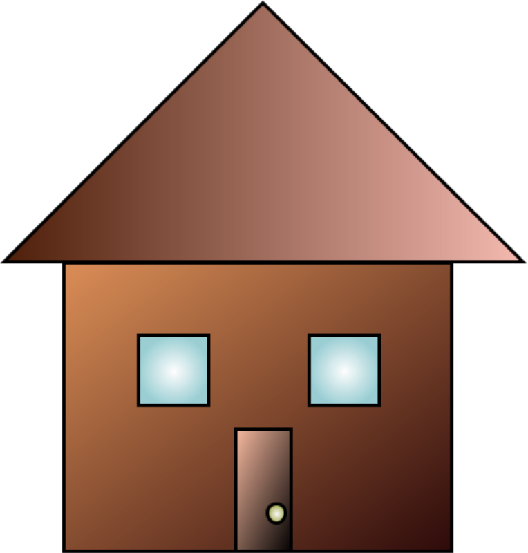 Free Clipart: Basic House | coolGuy707