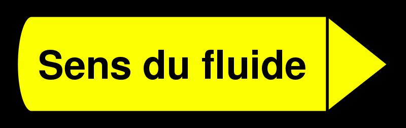 Free Flèche sens du fluide