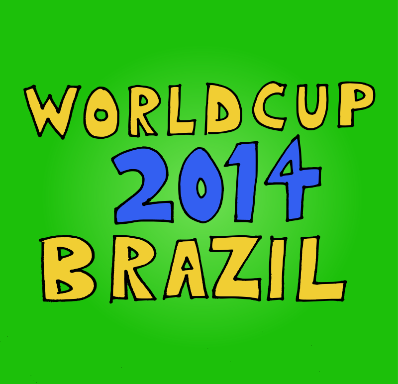 Free Clipart: World Cup 2014 in Brazil | j4p4n