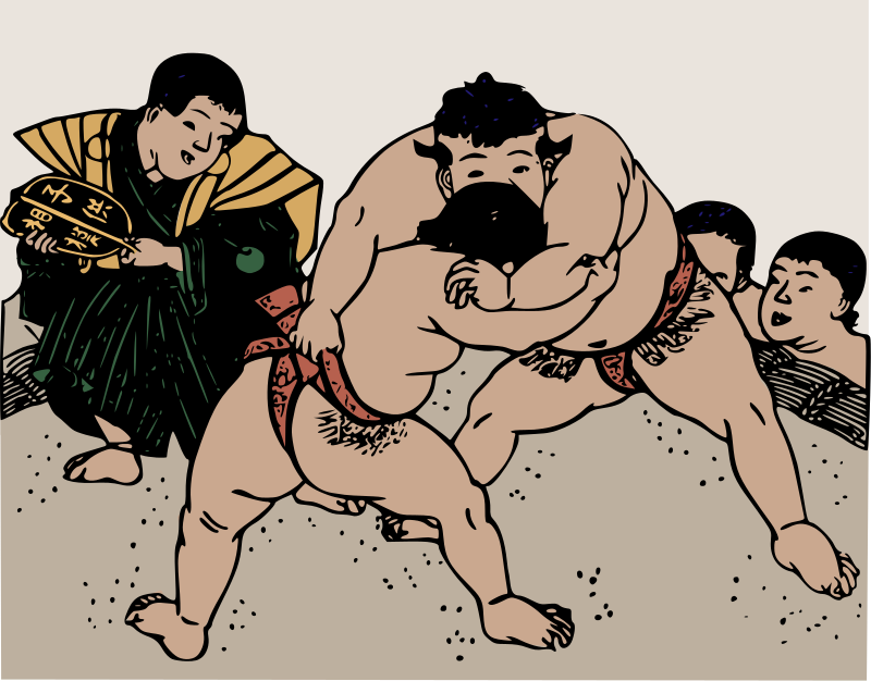 Free Old Sumo Wrestlers