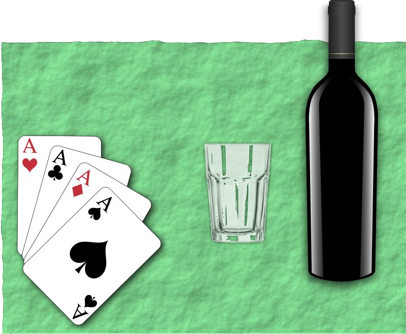 Free Poker Bottle
