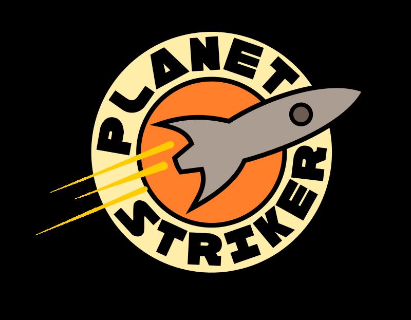 Free Planet Striker Logo