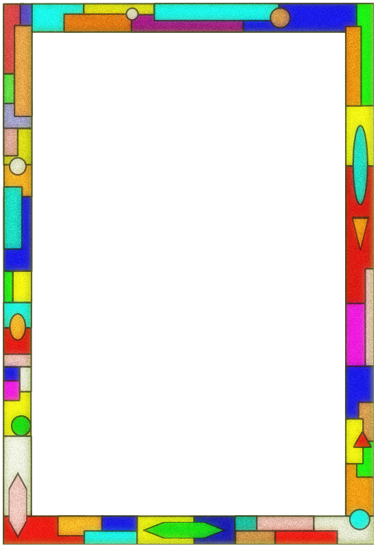 Free Stained Glass Border 01