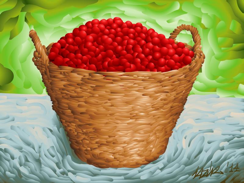 Free Cherry Basket