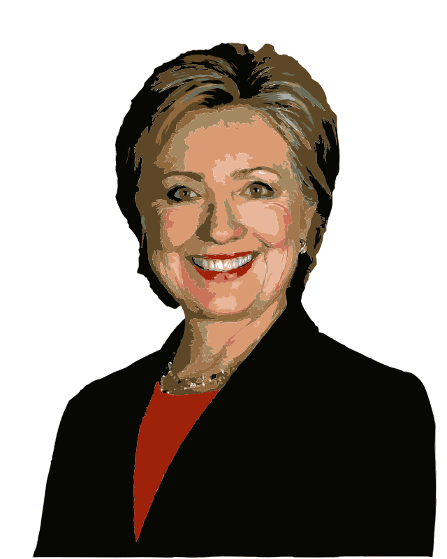 Free Hillary Clinton Colorized