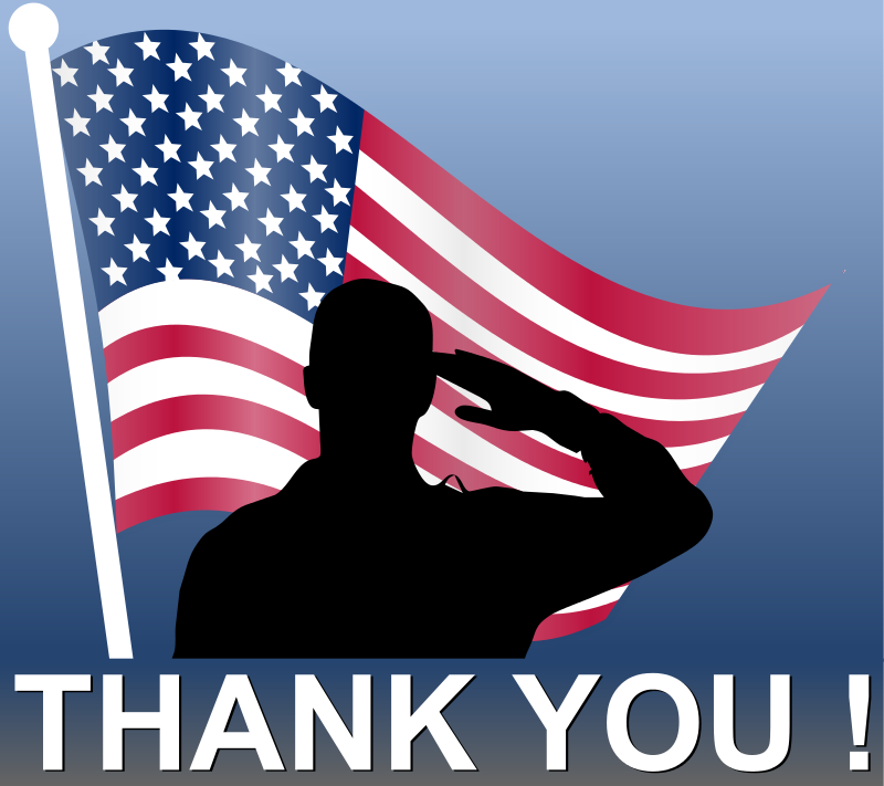 Free Clipart: Memorial Day - Thank You! | cyberscooty