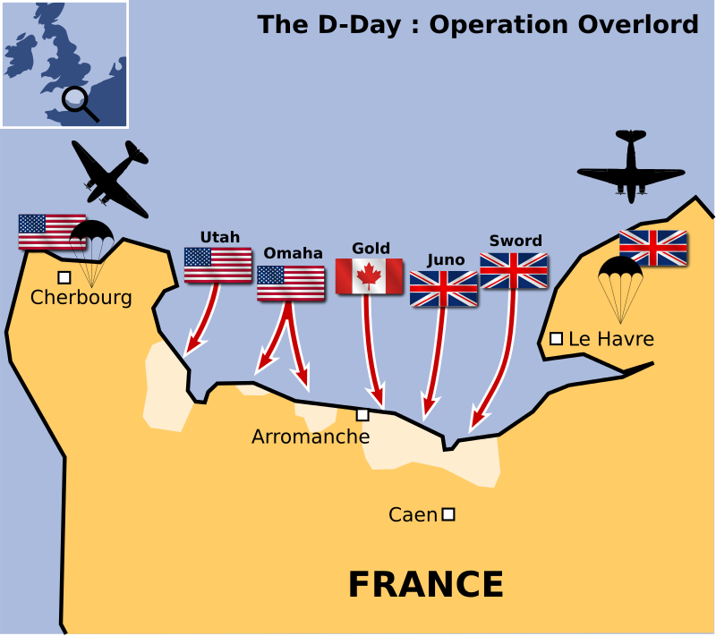 Free Clipart: The D-Day | cyberscooty
