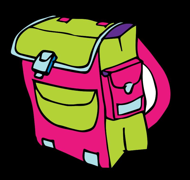 Free school bag حقيبة مدرسية