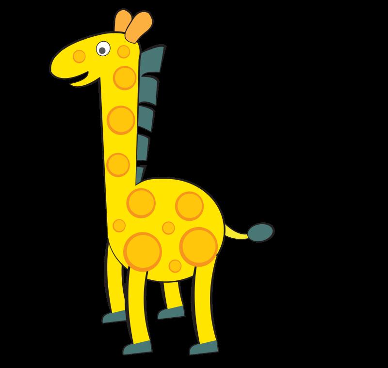 Жираф картинки для детей нарисованные