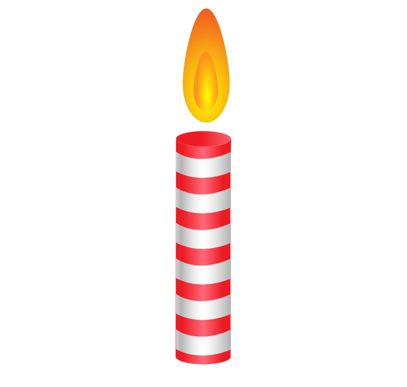 Free candle شمعة