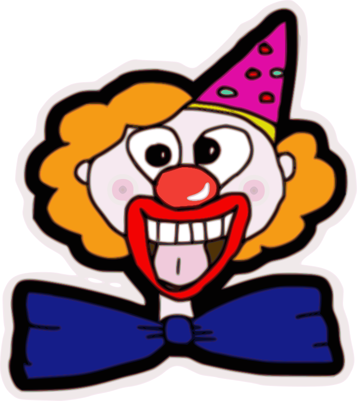 Free Clown Face