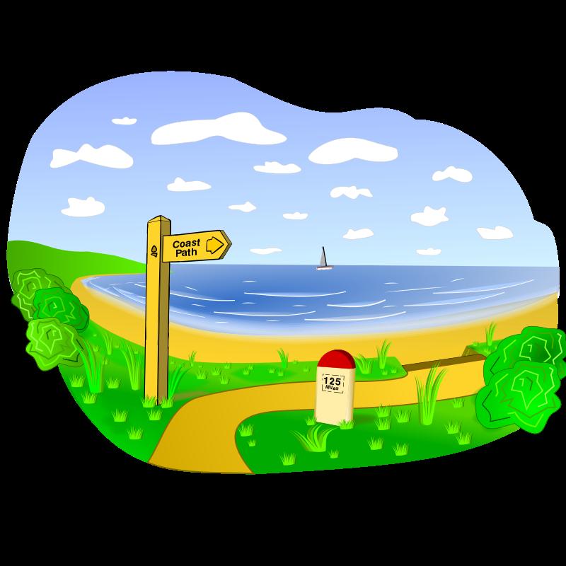 Free Coastal Landscape Scene