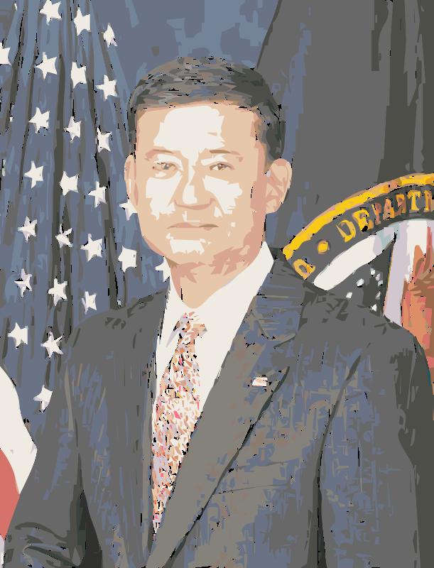 Free Eric Shinseki official Veterans Affairs Portrait Colorized