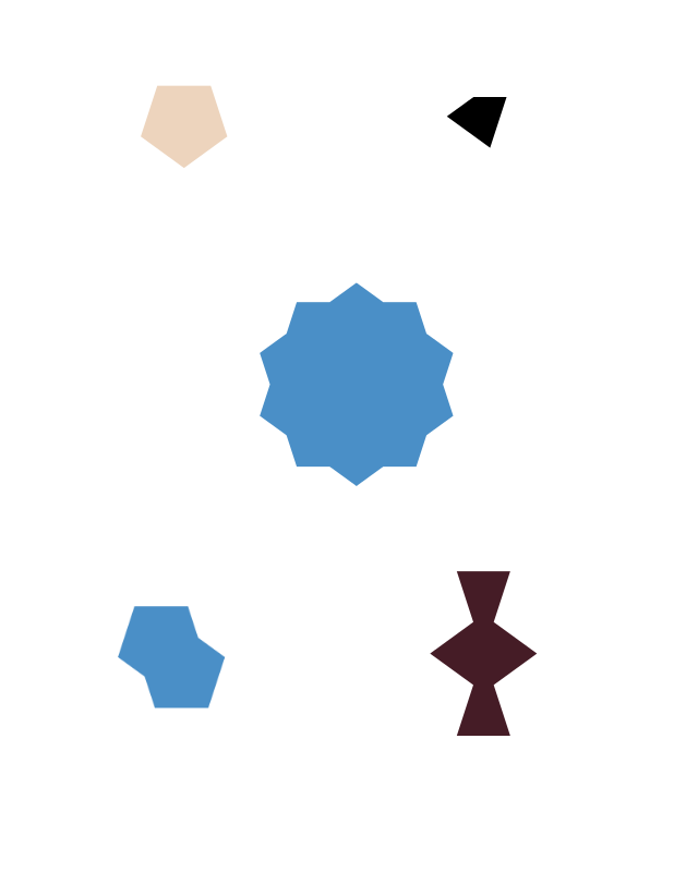 Free Decagonal Islamic Tiling kit