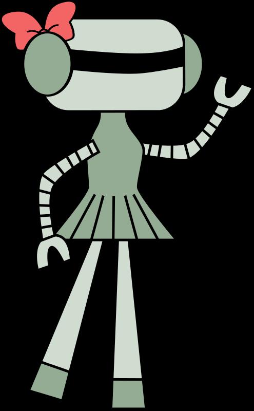 Free Girl robot