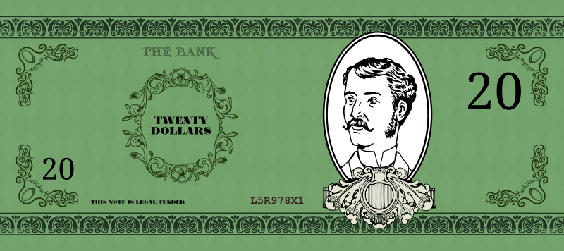 Free Victorian Banknote