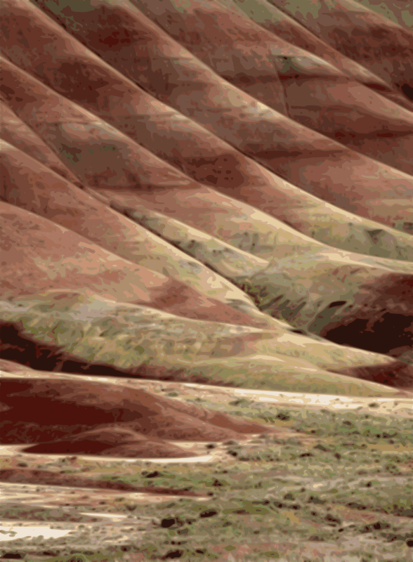 Free Painted Hills of John Day Fossil Beds, Oregon