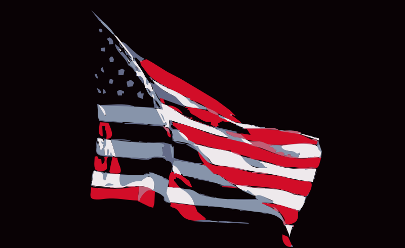 Free REQUEST: United States Flag in Wind