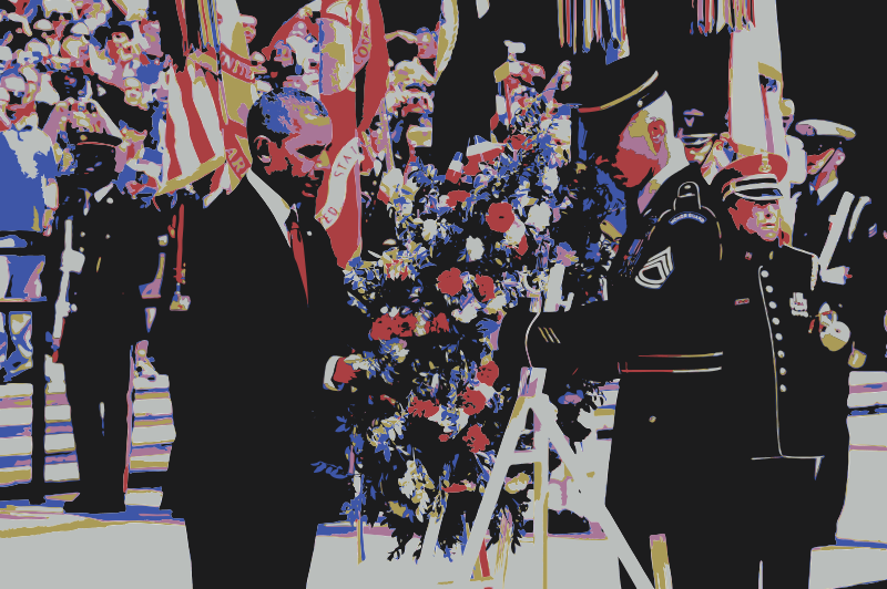 Free President Barack Obama Wreath Laying Memorial Day