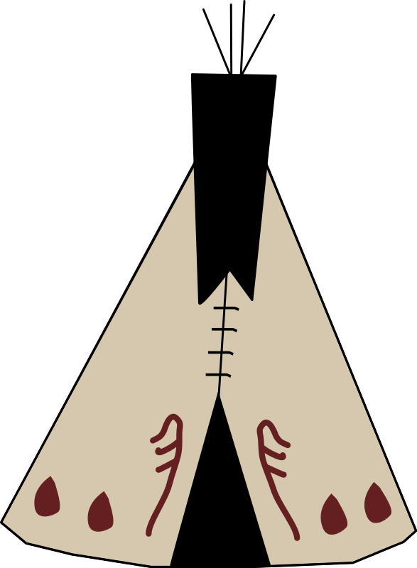 Free tipi / teepee