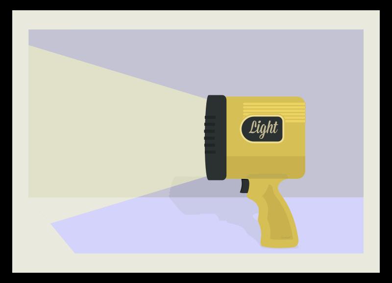 Free Spotlight Handheld