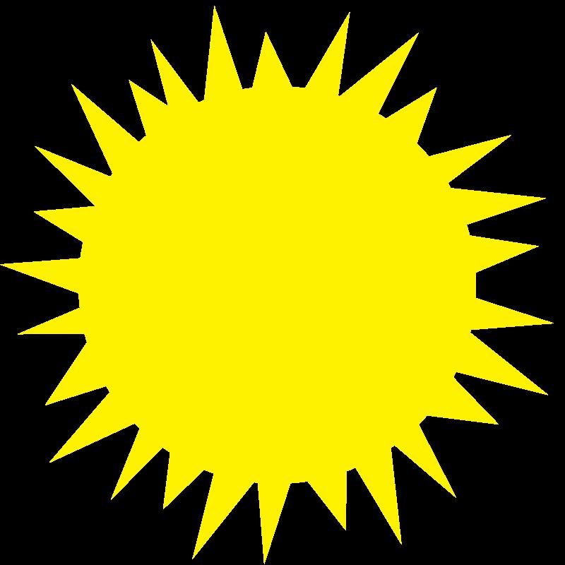 Free Plain Simple Sun