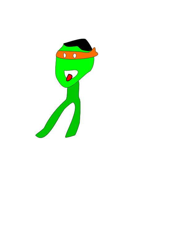 Free Funny Animated Dancing Character - Frame 4