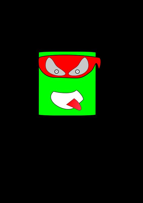 Free Green Canman Ninja