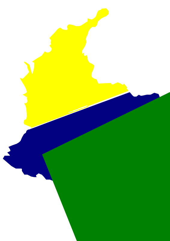 Free mapa de colombia