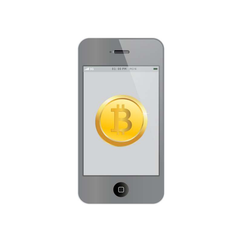 Free Bitcoin inside iPhone