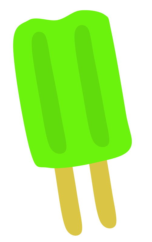 free clipart green popsicle scout rh 1001freedownloads com popsicle clipart black and white popsicle clipart free
