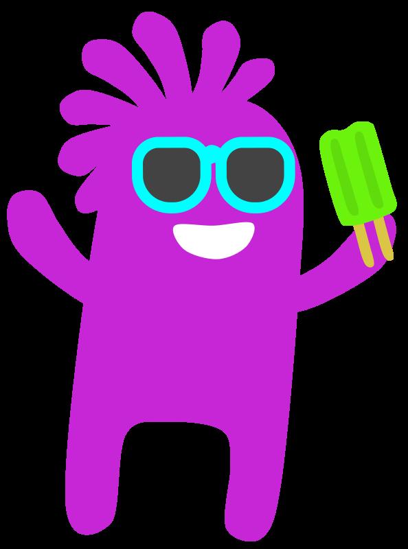Free Popsicle Monster
