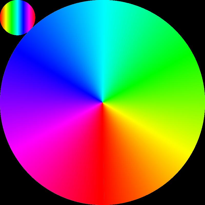 Free Clipart: Conic spectrum | Lazur URH