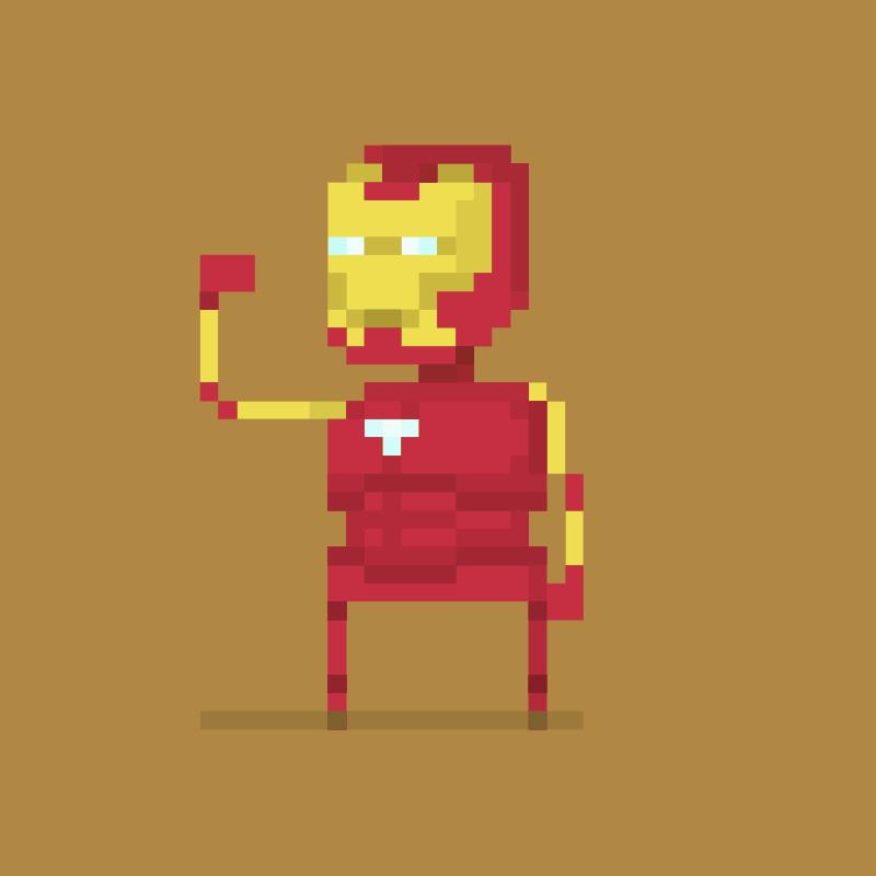 Free Iron Man PxL Peep