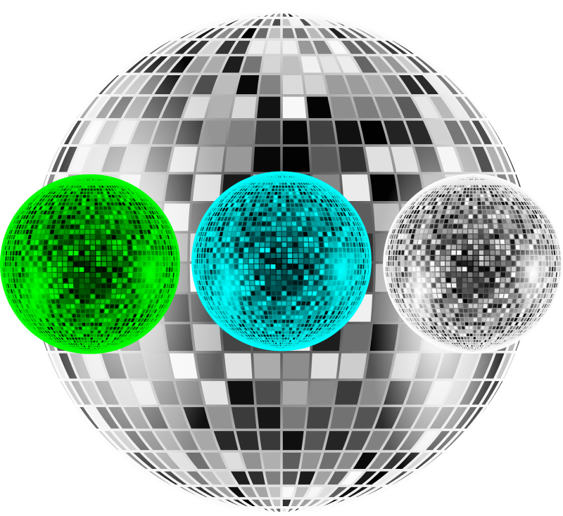 Free Clipart: Disco ball + tutorial | Keistutis