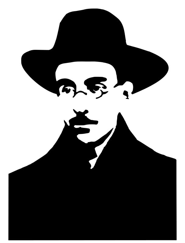Free Silhueta de Fernando Pessoa