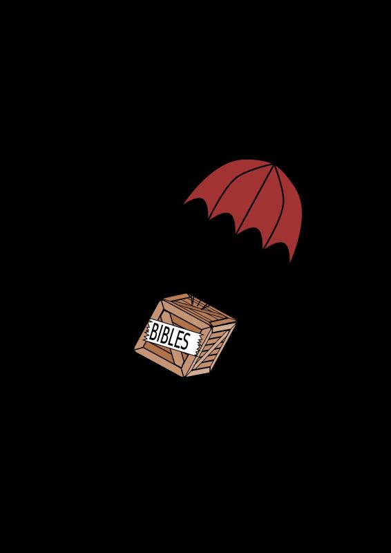 Free Parachute on box