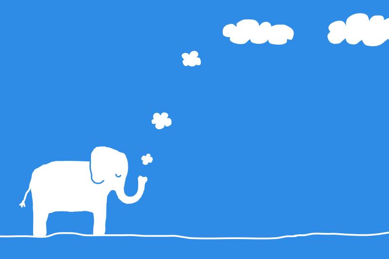 Free Elephant cloud