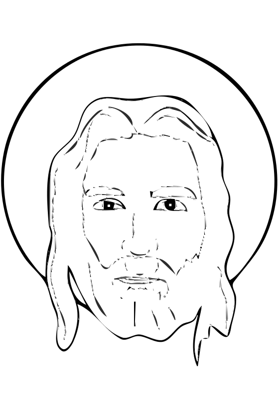 Free Meuble heraldique Face of Christ