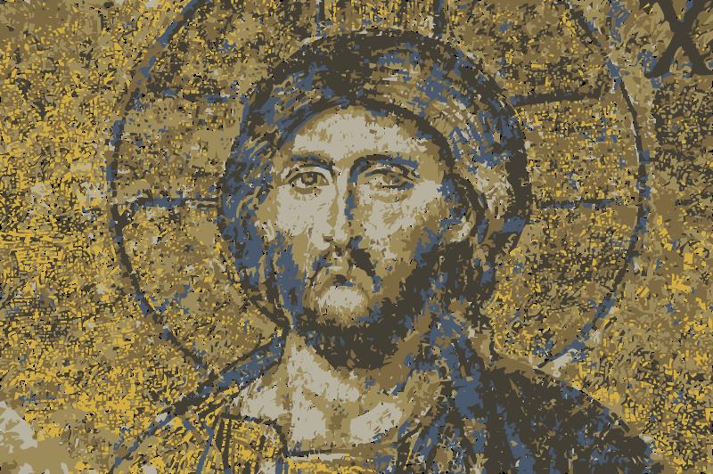 Free Hagia Sophia mosaic Christ  Jesus