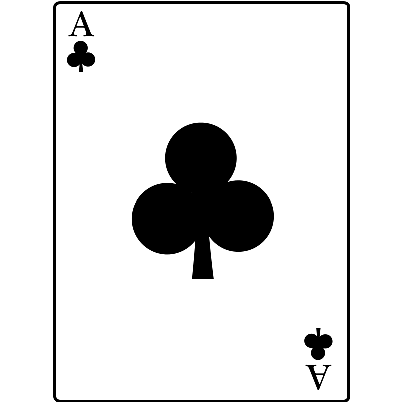 Free Ace of Clubs