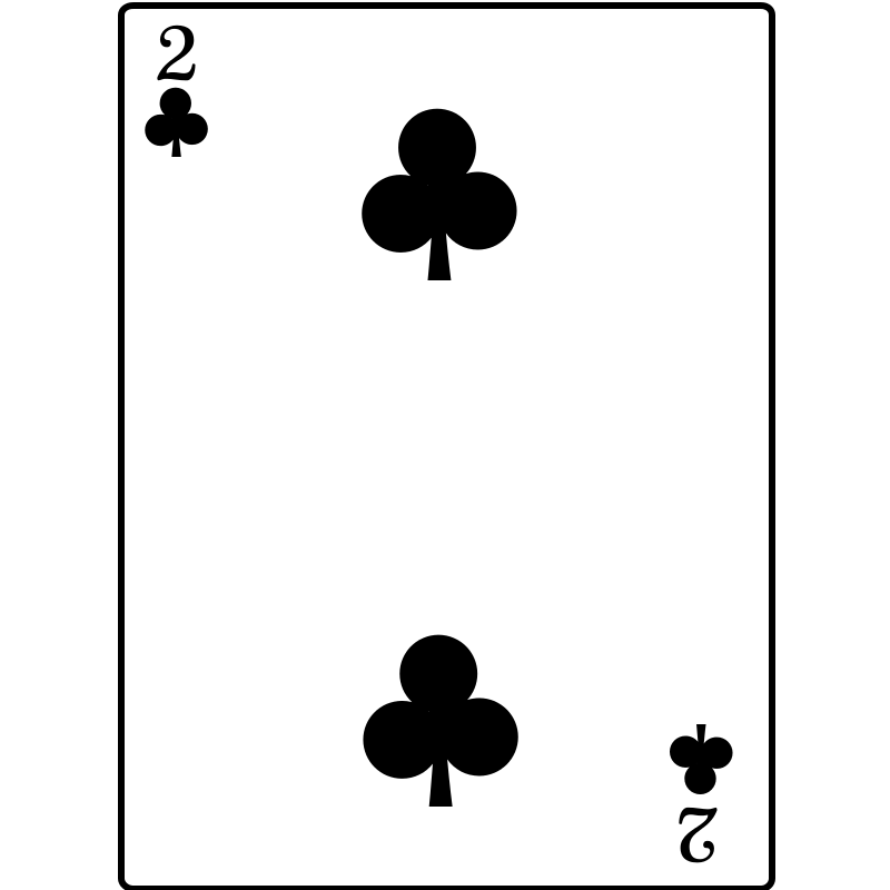 Free 2 of Clubs