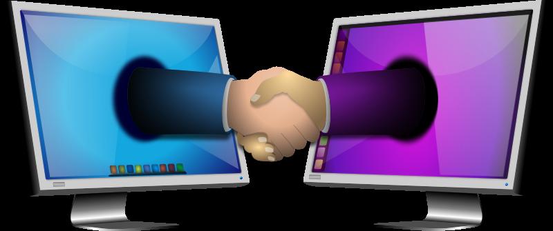 Free Computer Handshake 1