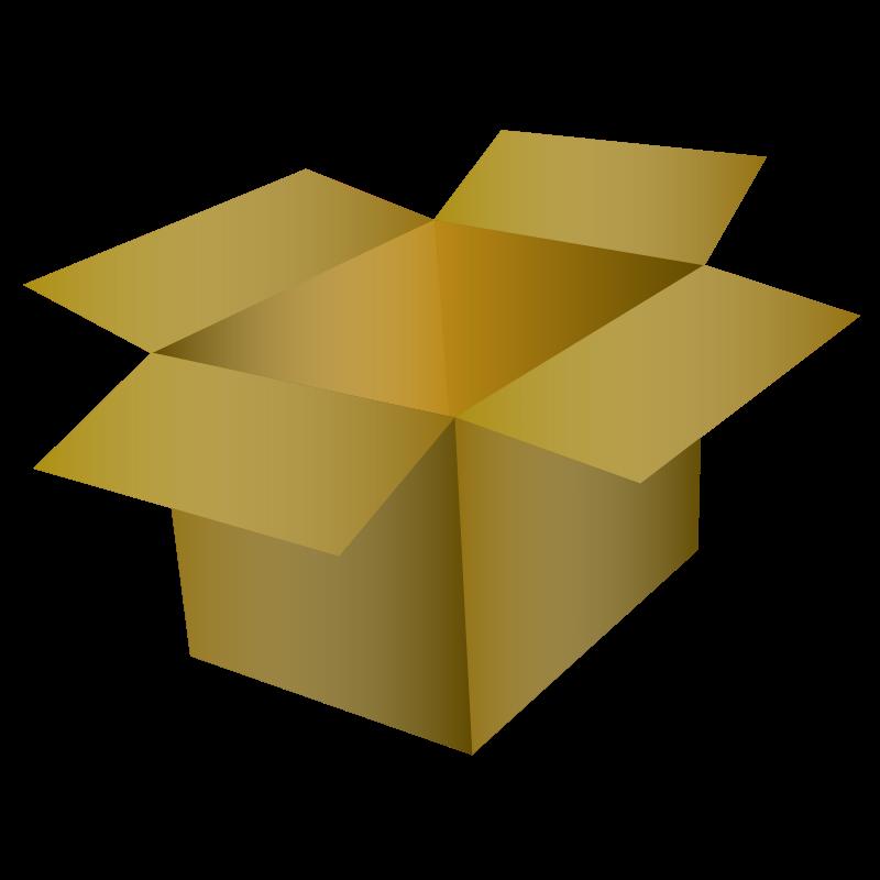Free Clipart: Cardboard Box | SavanaPrice