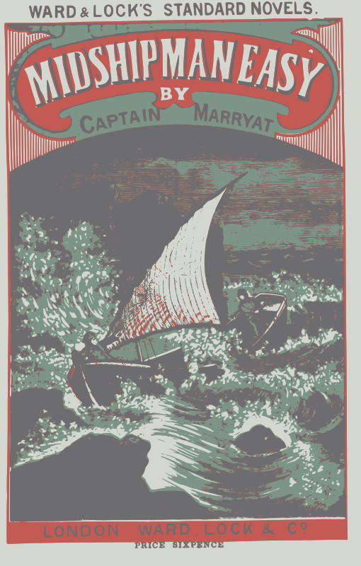 Free Clipart: A midshipman easy book cover | bf5man
